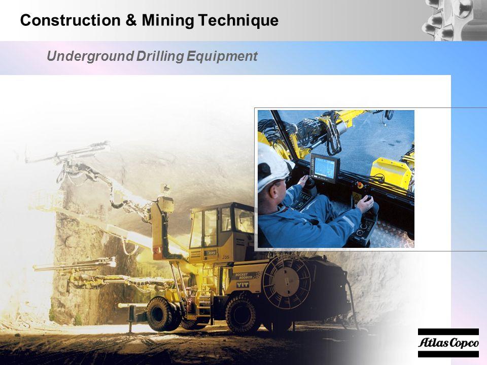Construction & Mining Technique Underground Drilling Equipment