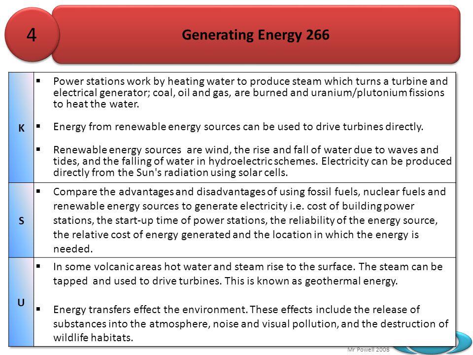 Mr Powell 2008 Index Generating Energy 266 4 4