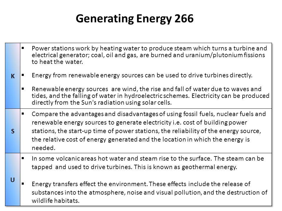 Generating Energy 266
