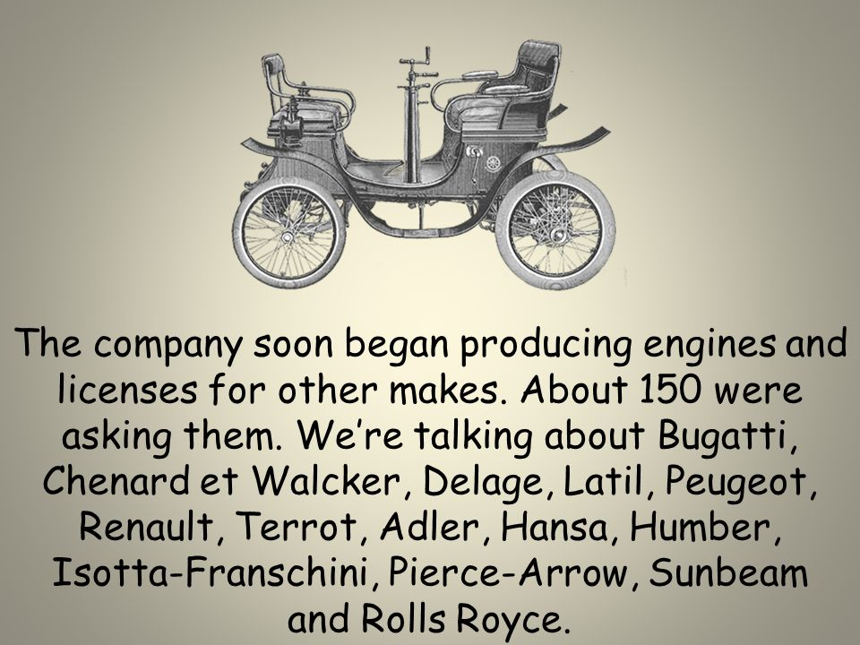The Dion Bouton automobile company, worlds largest automobile factory, was formed in Paris in 1883 and became well-known for their quality, reliability and durability.