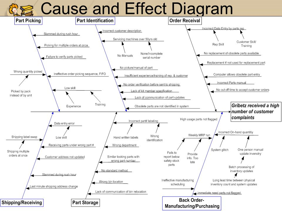 31 Cause and Effect Diagram