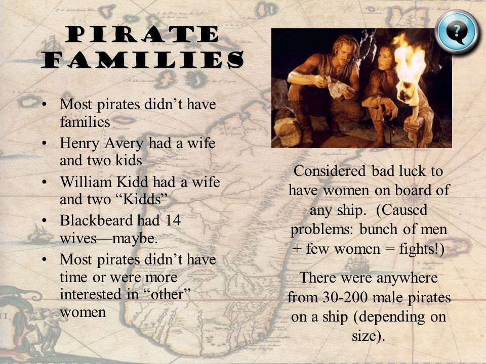 A few other lady pirates: Princes AlwildaPrinces Alwilda (400ad) –She didnt want to marry Prince Alf of Denmark –She dressed as a man and stole a boat