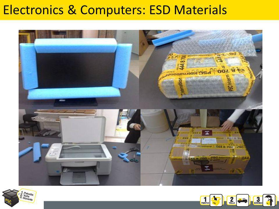 Electronics & Computers: ESD Materials 20