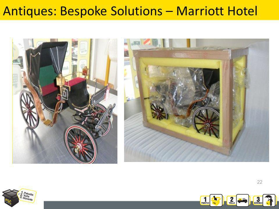 Antiques: Bespoke Solutions – Marriott Hotel 22