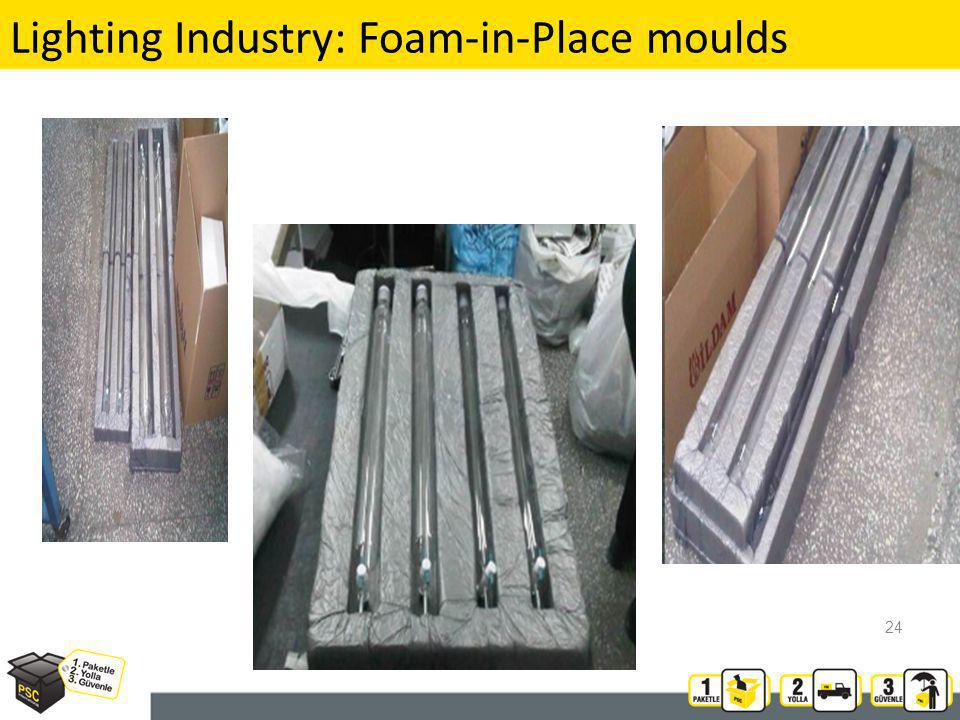 Lighting Industry: Foam-in-Place moulds 24