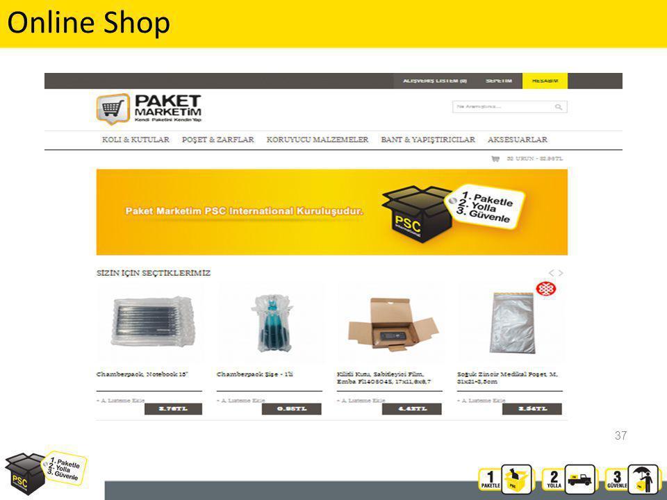 37 Online Shop