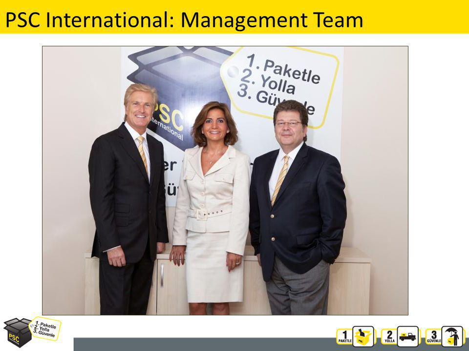 PSC International: Management Team