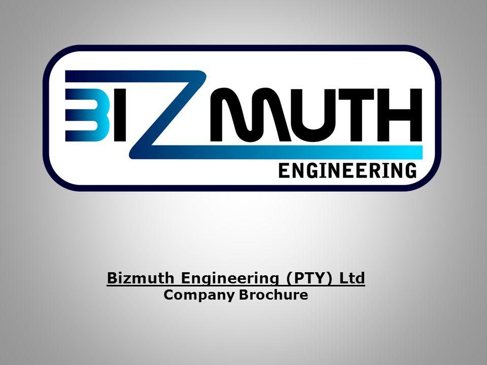 Bizmuth Engineering (PTY) Ltd Company Brochure
