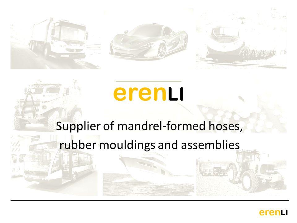 eren LI Supplier of mandrel-formed hoses, rubber mouldings and assemblies