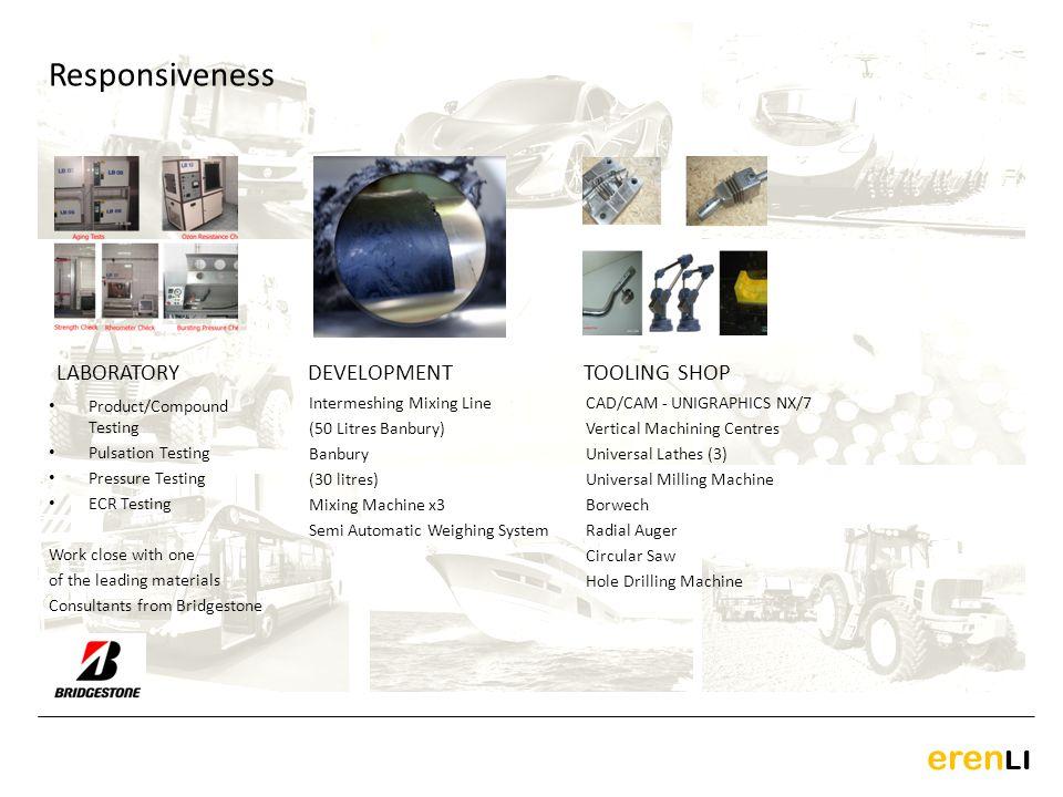 eren LI LABORATORY CAD/CAM - UNIGRAPHICS NX/7 Vertical Machining Centres Universal Lathes (3) Universal Milling Machine Borwech Radial Auger Circular