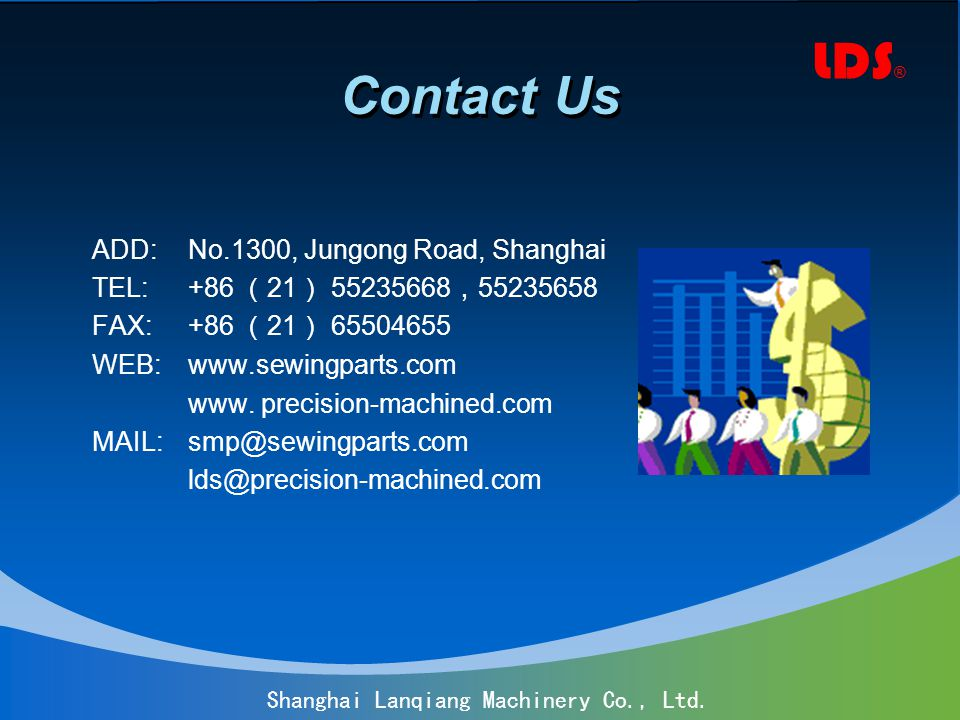 LDS ® Shanghai Lanqiang Machinery Co., Ltd.