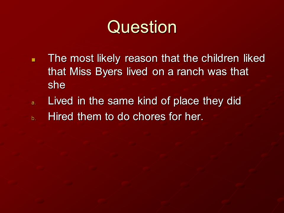 Answer B. United States