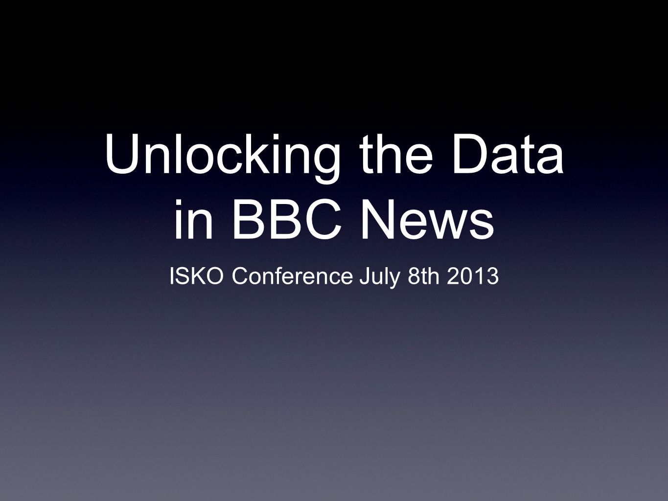 next steps rolling out tagging to journalists throughout BBC News making better use of rNews/RDFa - full mark-up integration piloting the use of organising content by storylines