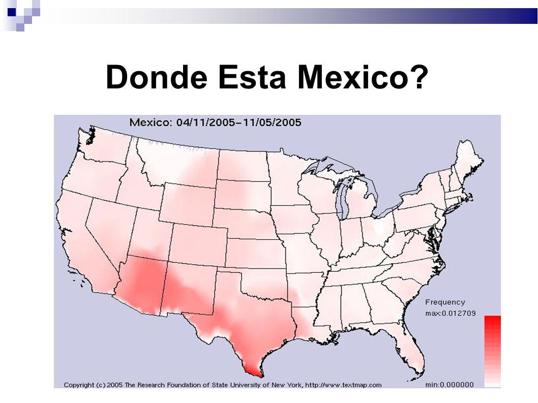 Donde Esta Mexico