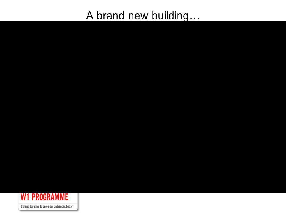 A brand new building…