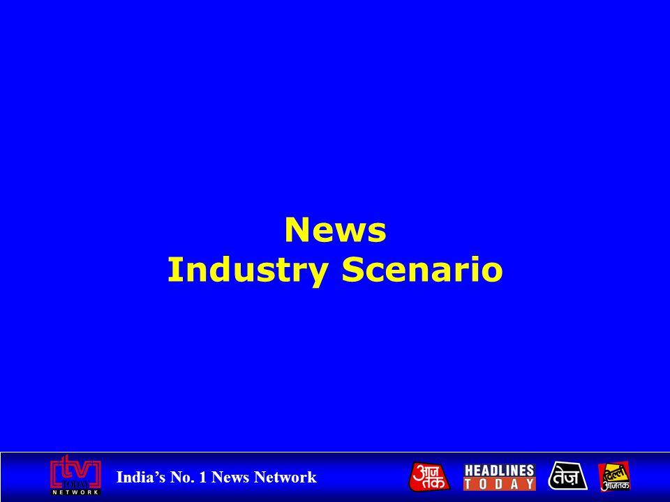 Indias No. 1 News Network News Industry Scenario