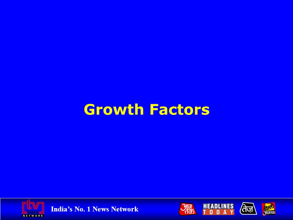 Indias No. 1 News Network Growth Factors