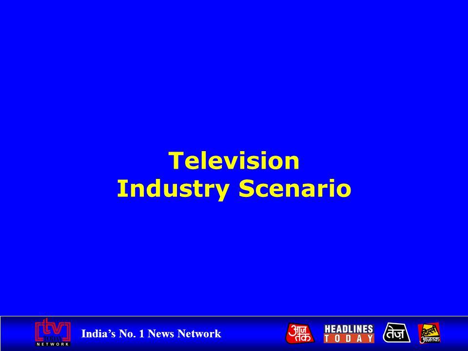 Indias No. 1 News Network Television Industry Scenario