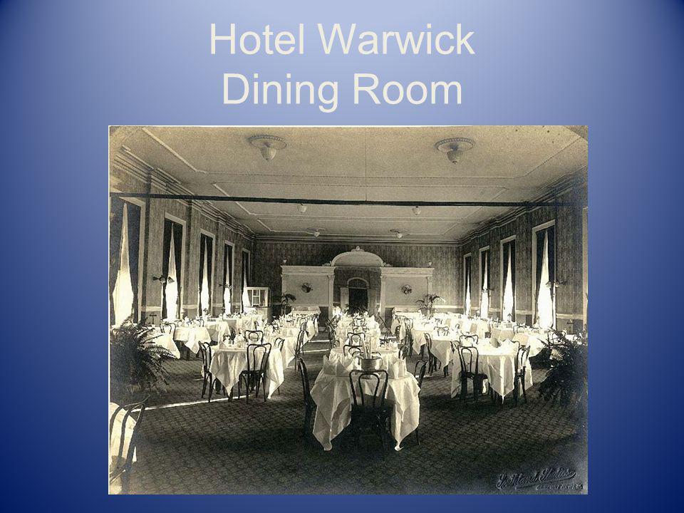 Hotel Warwick Dining Room