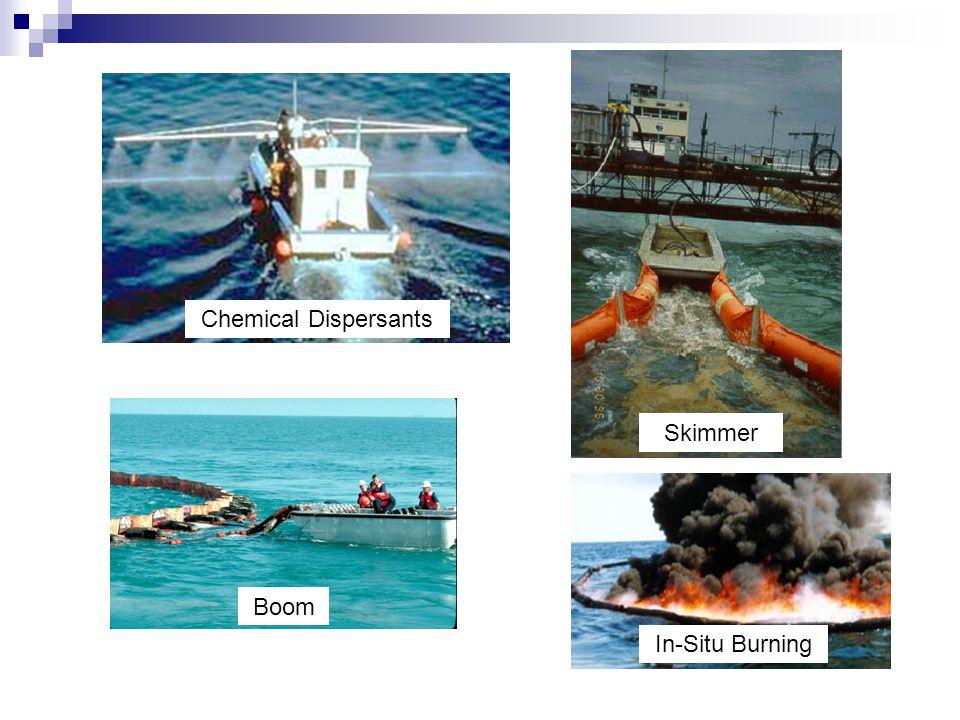 Chemical Dispersants Boom Skimmer In In-Situ Burning