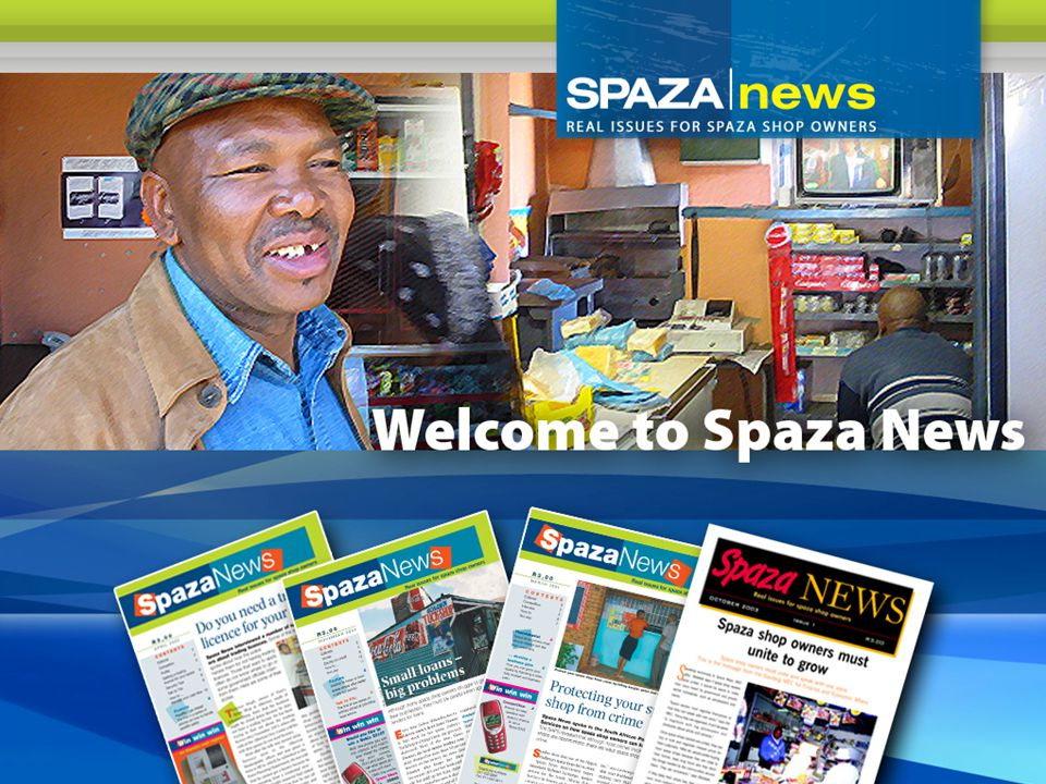 Spaza Shops Definition – Spaza shops are small retail enterprises operating from a residential stand or home in a formal or informal township.