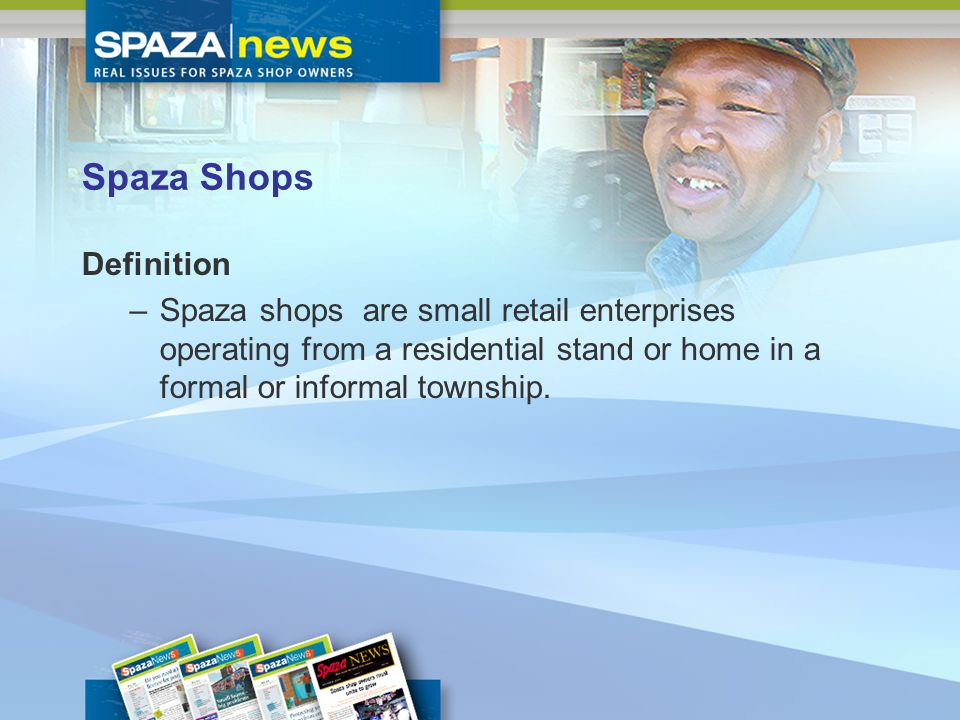 Spaza Shops Facts There are about 100 000 spaza shops in South Africa There are more than 40 000 spazas in Gauteng alone Each spaza shop employs between two and three people providing between 230 000 to 290 000 jobs, which supports more than a million people Spaza shops have an estimated annual turnover of about R7,4 billion, capturing about 2,7 percent of South Africas retail trade.