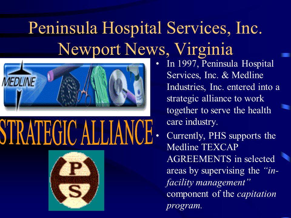 Peninsula Hospital Services, Inc. Newport News, Virginia SENTARA HAMPTON GENERAL HOSPITAL –Sentara Careplex –Sentara Hope Dialysis RIVERSIDE HEALTH SY