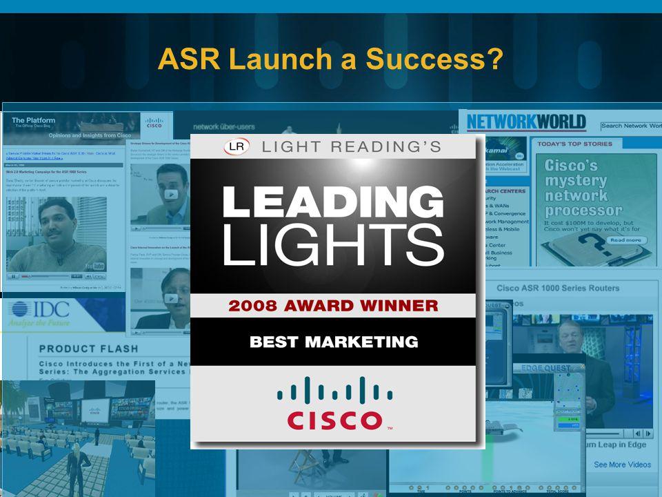 ASR Launch a Success