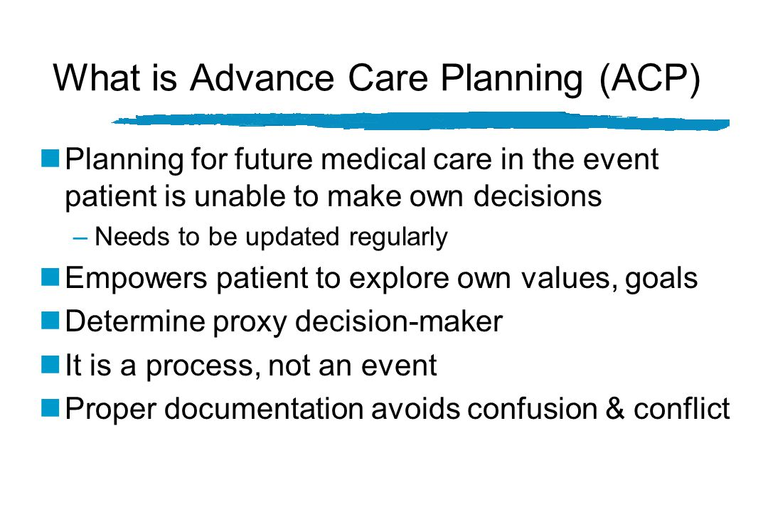 Restoring the Balance: The Importance of Advance Care Planning (ACP) Mechanical Care Communication & ACP