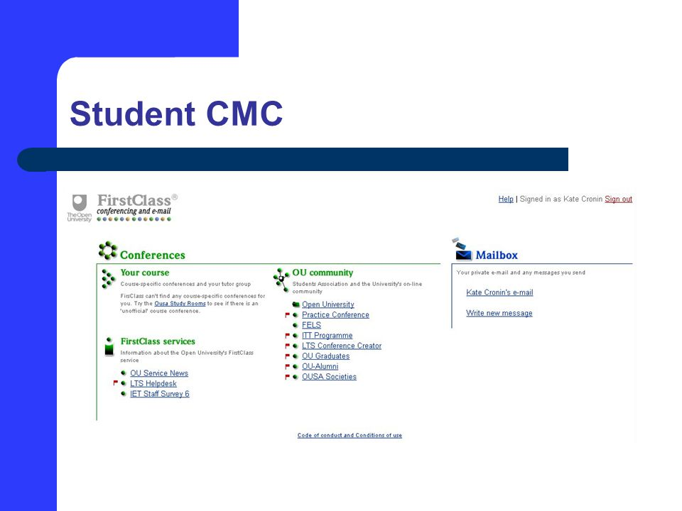 Student CMC