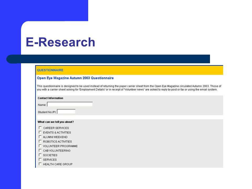 E-Research