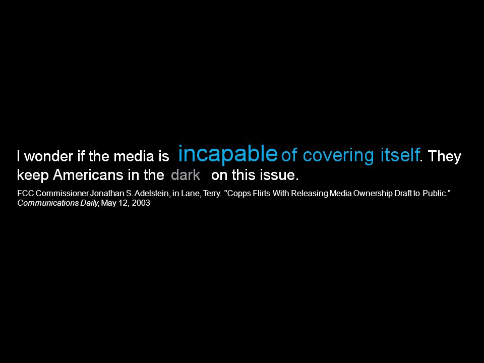 THE ALLIANCE OF mass media