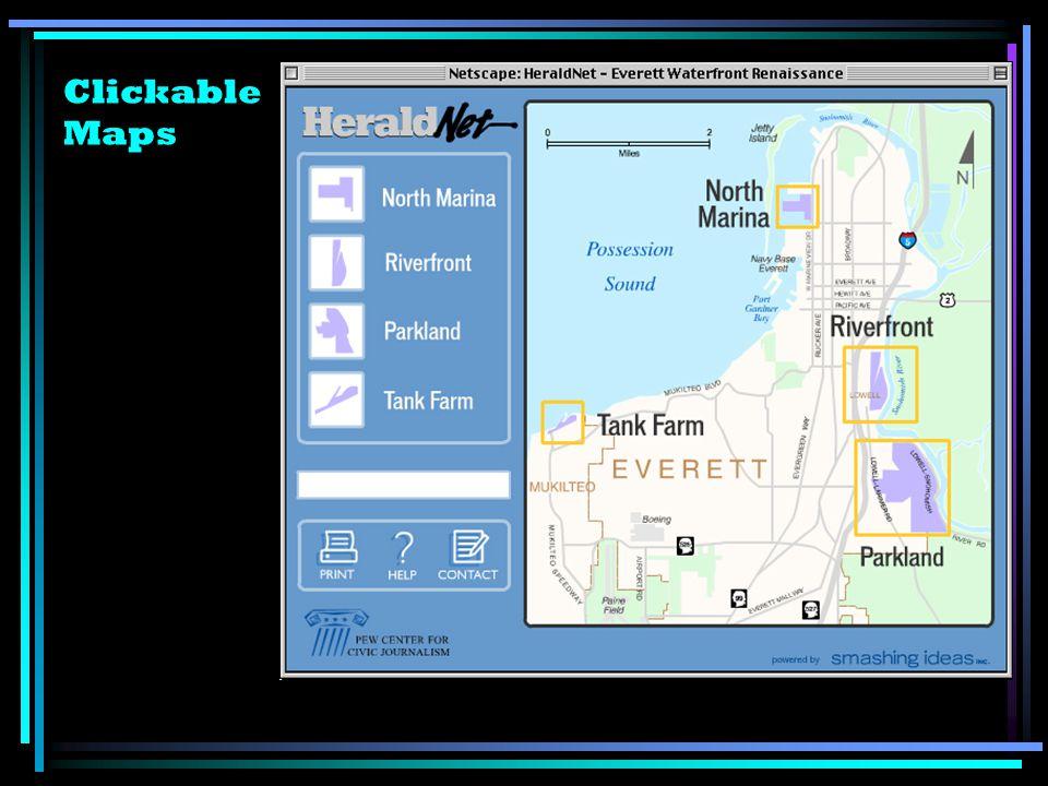 Clickable Maps