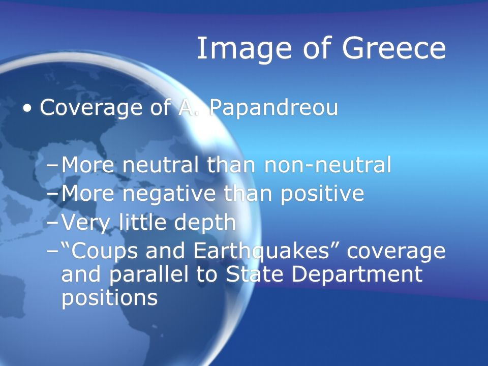 Image of Greece Coverage of A.