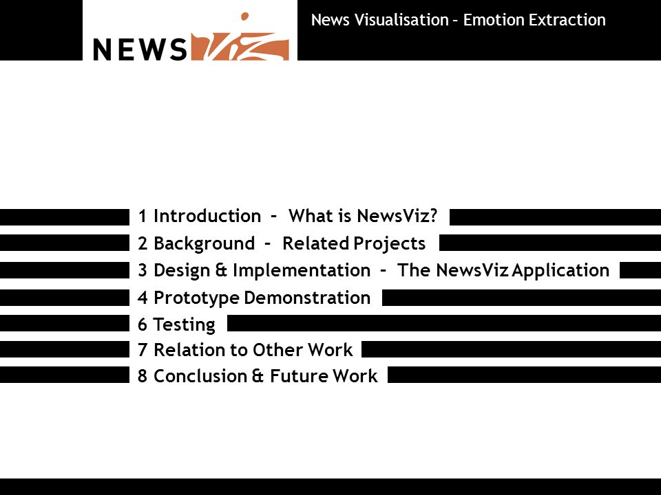 What is NewsViz.