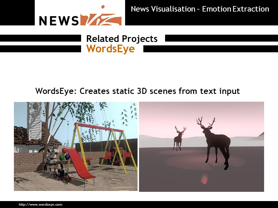 Summarization Options NewsViz News Visualisation – Emotion Extraction