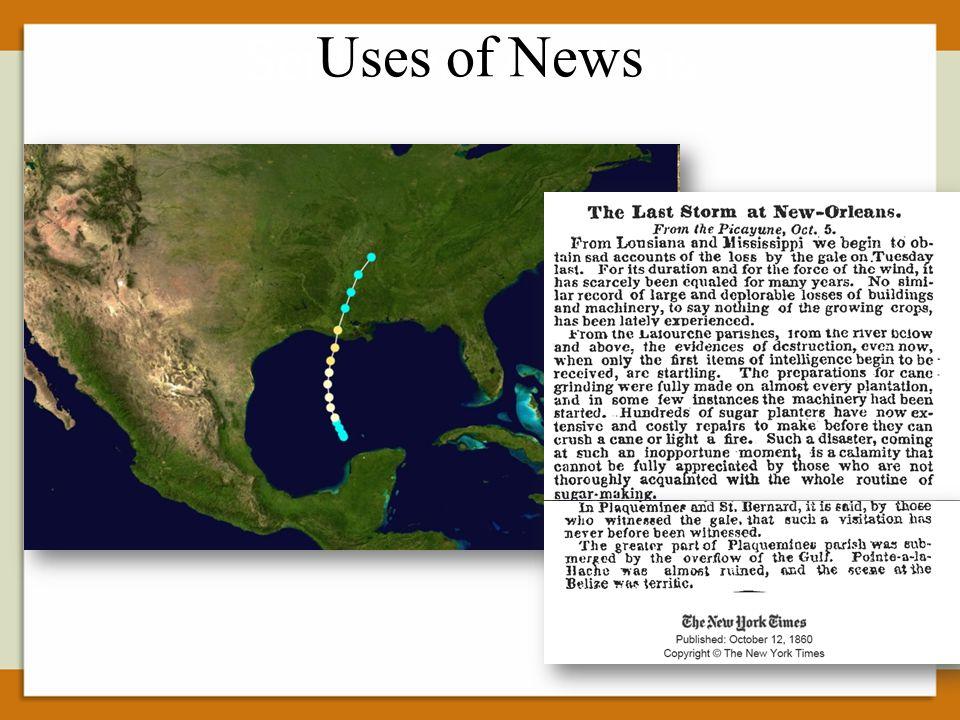 Sentiment Analysis Uses of News