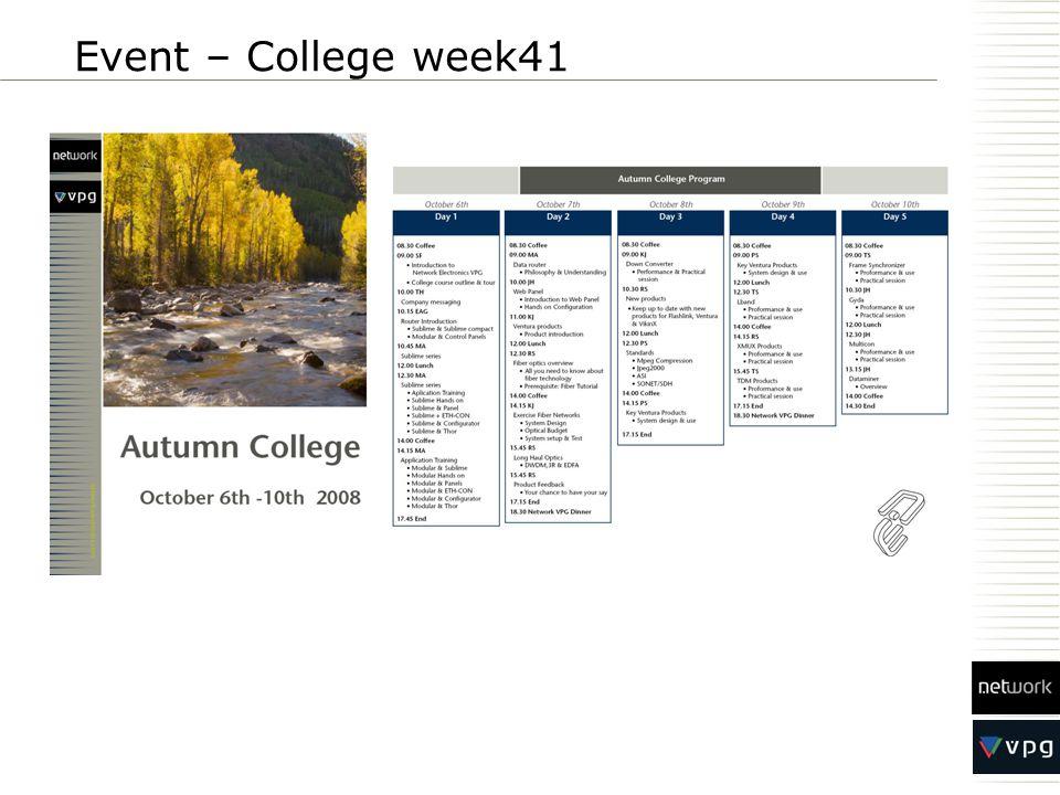 Event – College week41