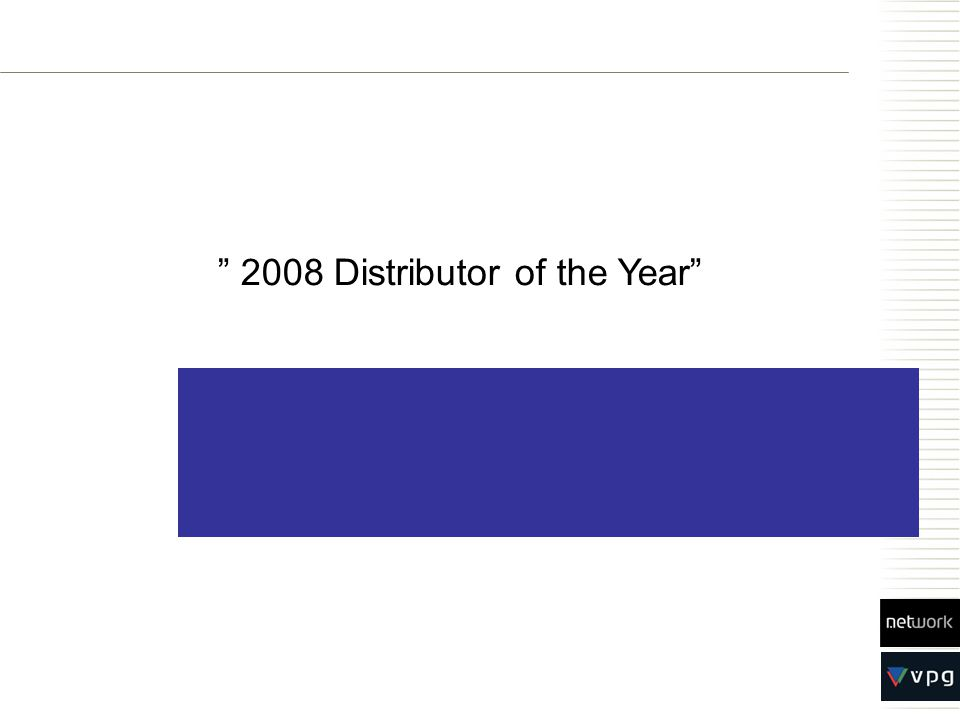 Logic Media Solutions, Germany 2008 Distributor of the Year