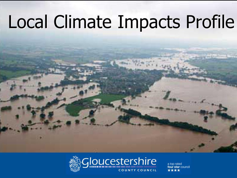 Local Climate Impacts Profile