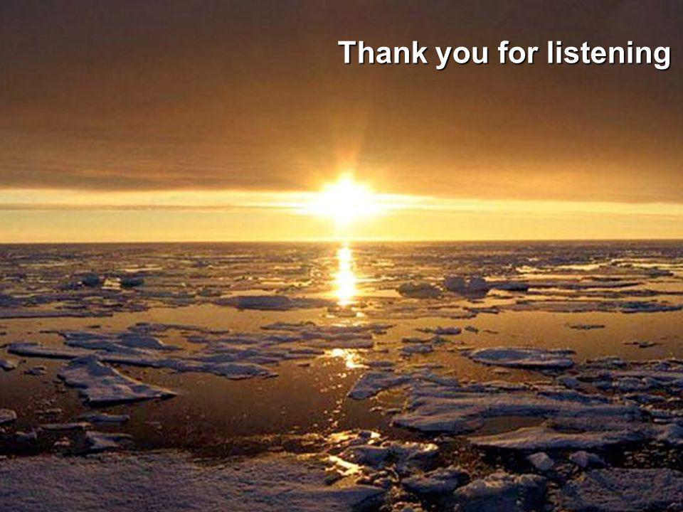 Thank you Thank you for listening