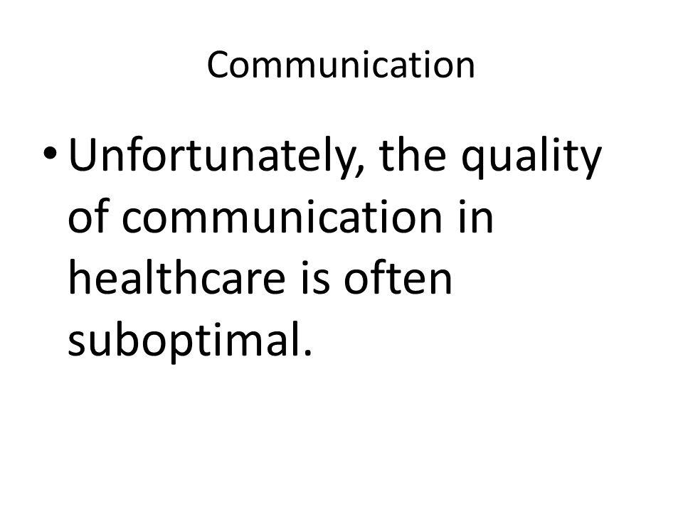Basic Communication Skills Responding – Address the patients concerns.