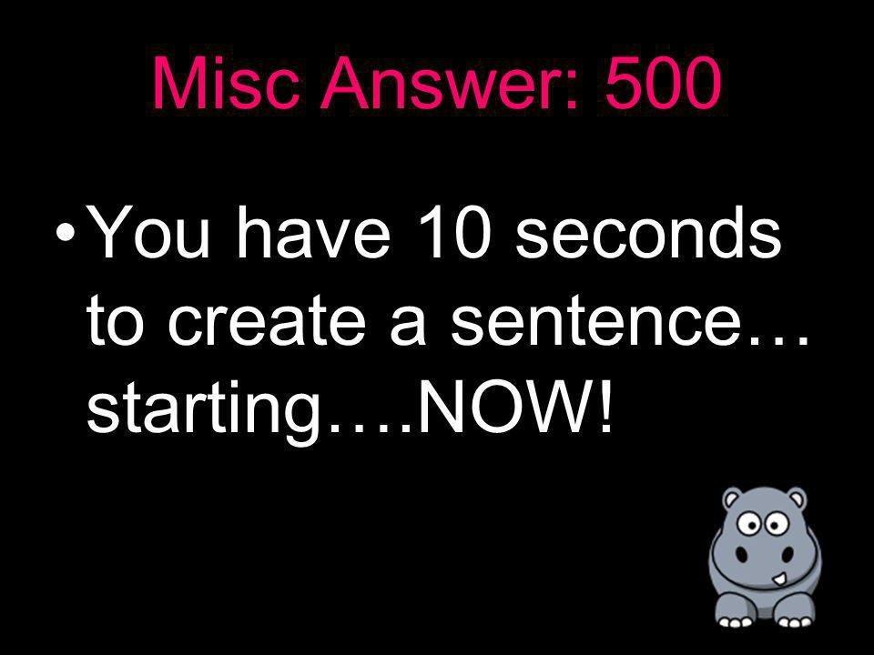Misc: 500 Please create a sentence using with pronouns and adjectives using the words fluffy and corndog.
