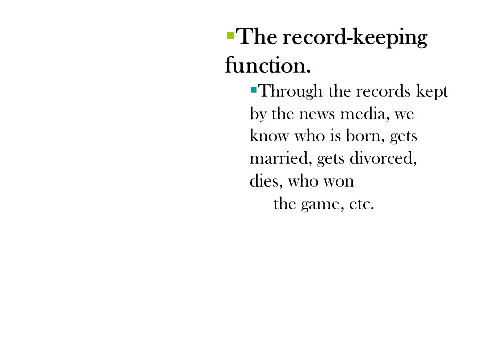 The First Amendment Powerpoint taken from Introduction to Journalism by Dianne Smith