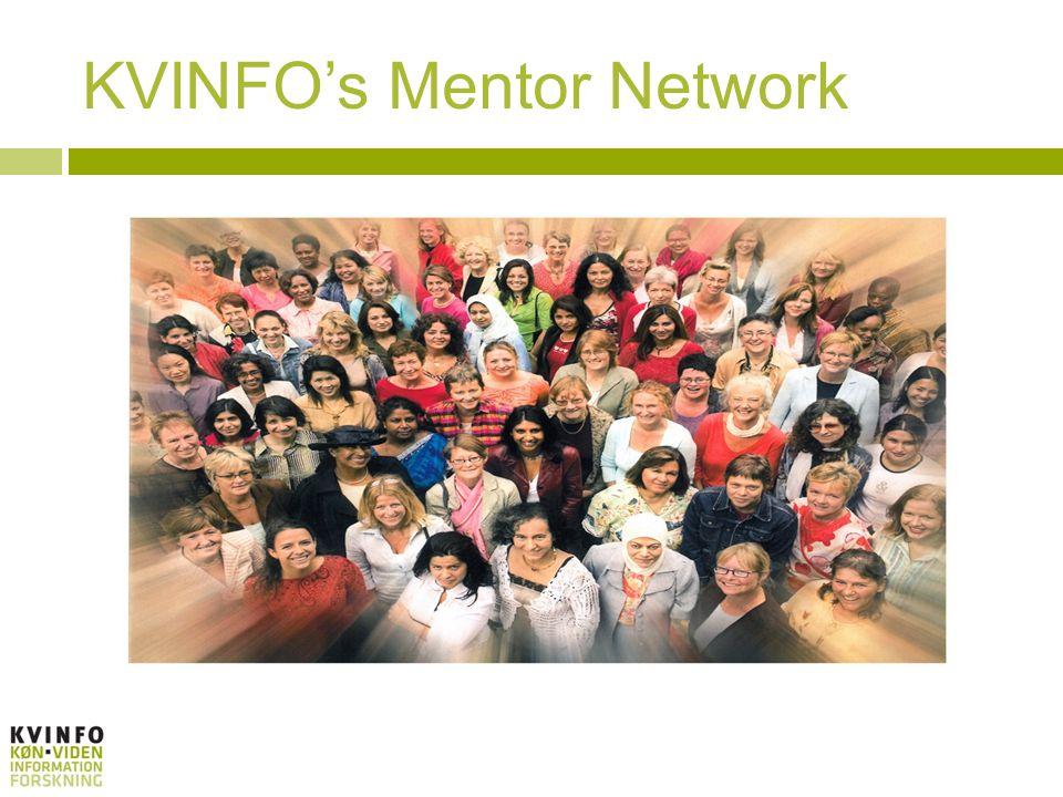 KVINFOs Mentor Network