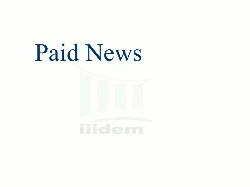 Paid News