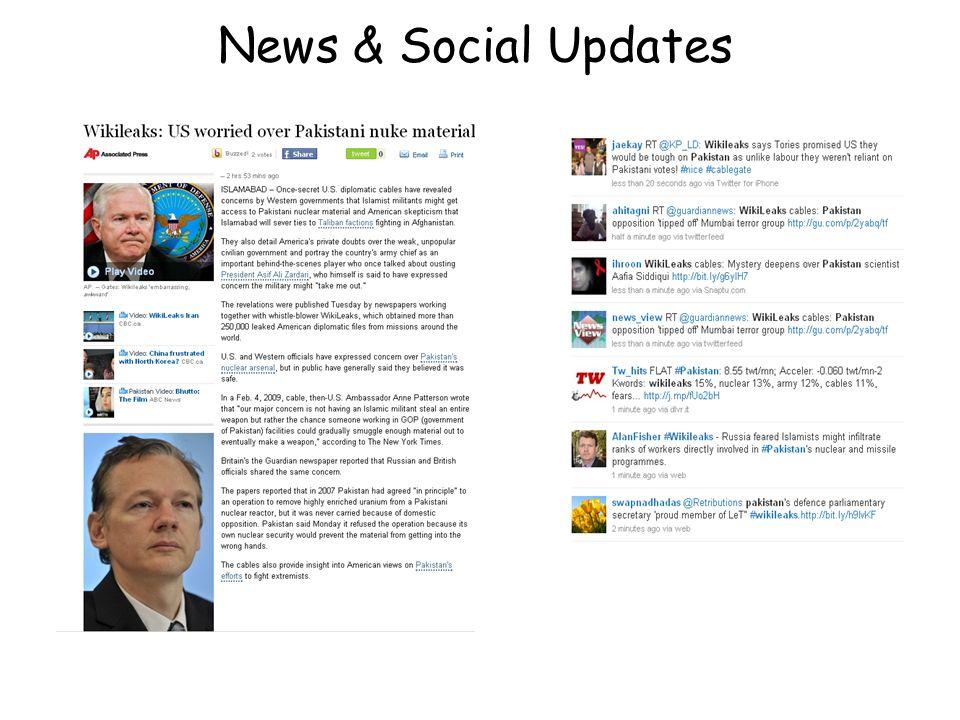 News & Social Updates