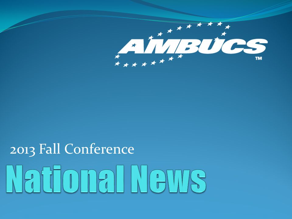 2013 Fall Conference