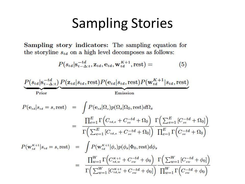 Sampling Stories