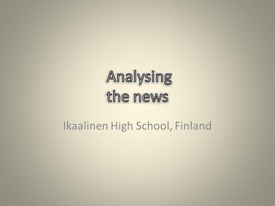 Ikaalinen High School, Finland